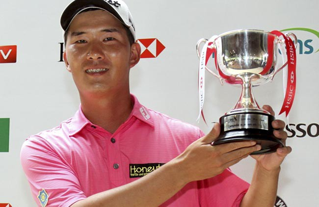 Rodrigo Lee trofeu