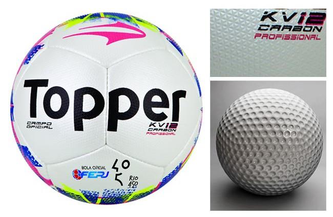 bola futebol topper com dimples