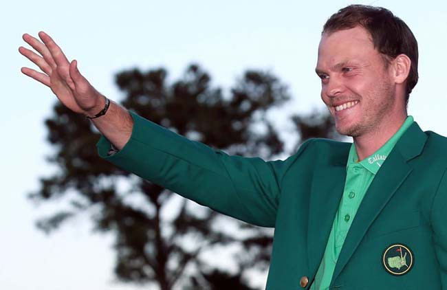Danny Willett jaqueta verde