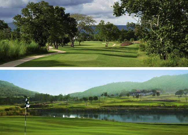 Mountain Creek e Banyan Golf Club Thai