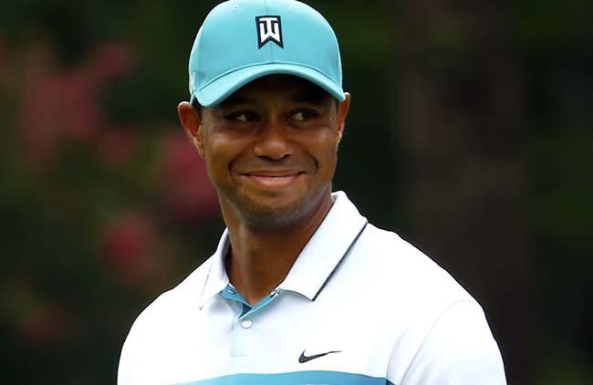 Tiger close sorri