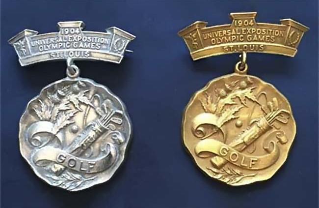 medalhas olimpicas golfe 1904