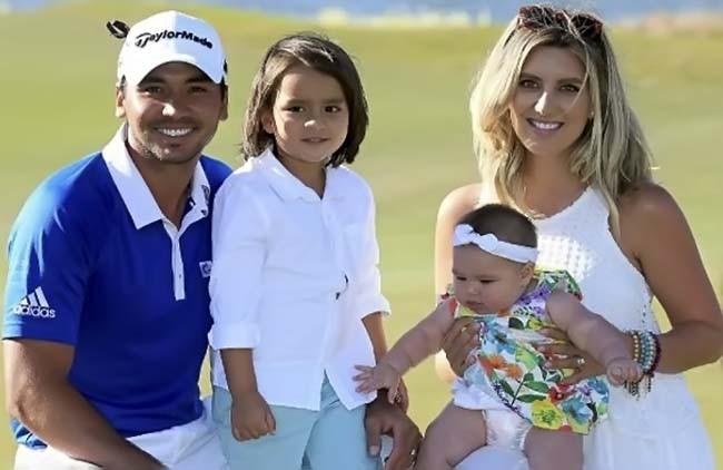 Jason Day e familia