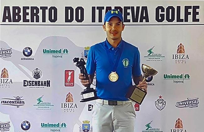 Fernando Augusto Silva vence Aberto do Itapeva Golfe
