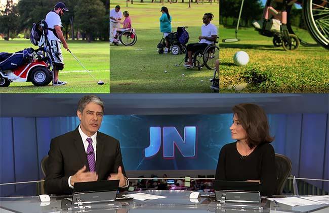 Golfe Adaptado no JN