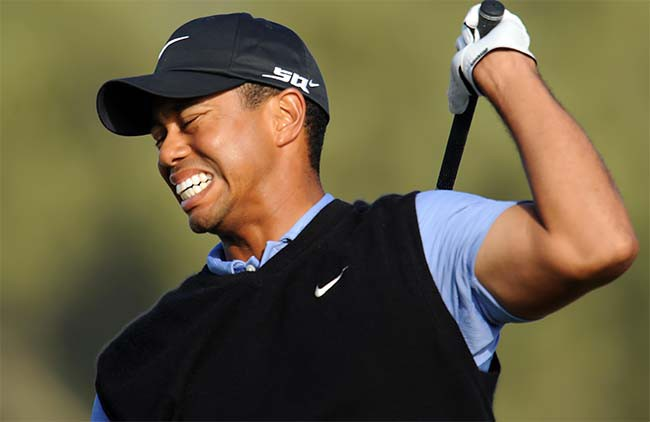 Tiger Woods close dor arquivo