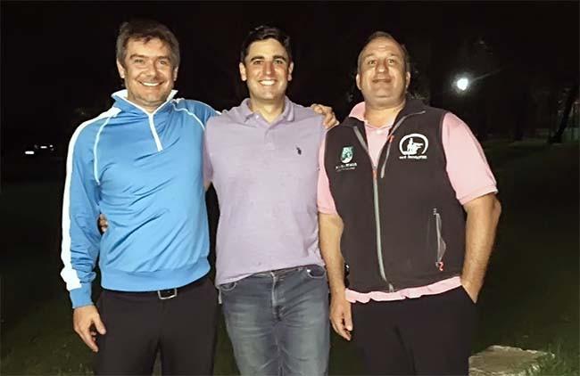 Hlton Couto Filho, Ricardo Ilha Moreira e Fabio Prates