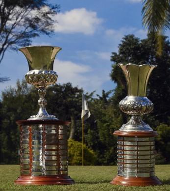 Trofeus feminino e masculino do Aberto sp vert